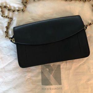 Reed Krakoff Black Leather Clutch